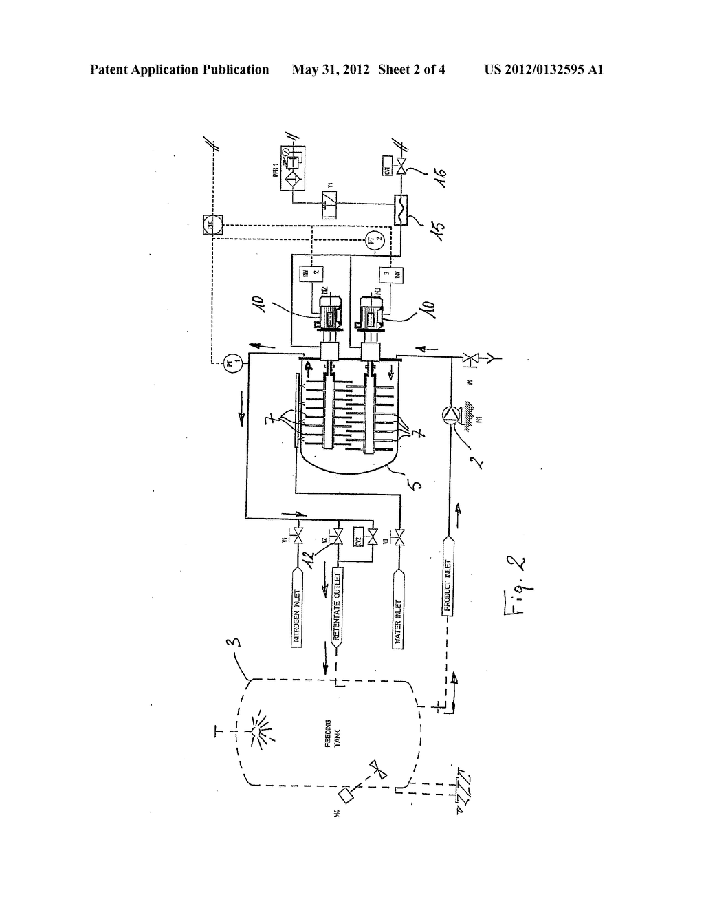 APPARATUS AND METHOD FOR FILTERING LIQUIDS, PARTICULARLY ORGANIC LIQUIDS - diagram, schematic, and image 03