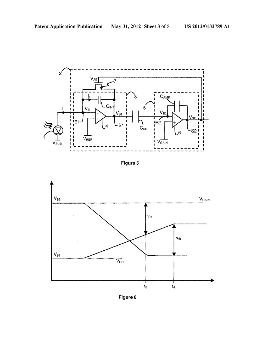 DETECTION CIRCUIT WITH CORRELATED DOUBLE SAMPLING WITH IMPROVED     ANTI-BLOOMING CIRCUIT - diagram, schematic, and image 04