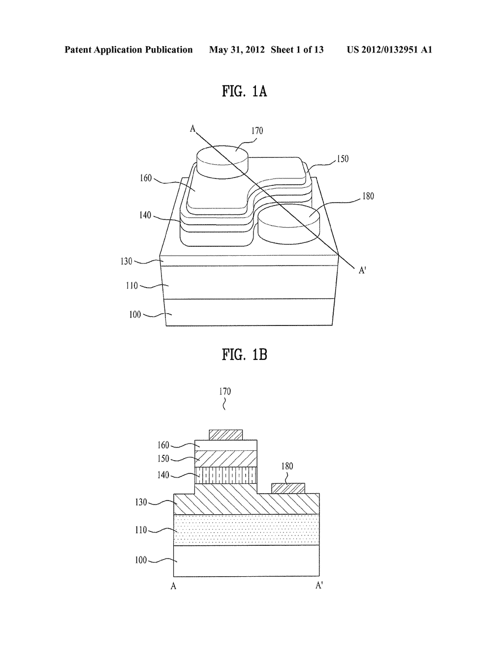 LIGHT EMITTING DIODE AND METHOD FOR FABRICATING THE SAME - diagram, schematic, and image 02
