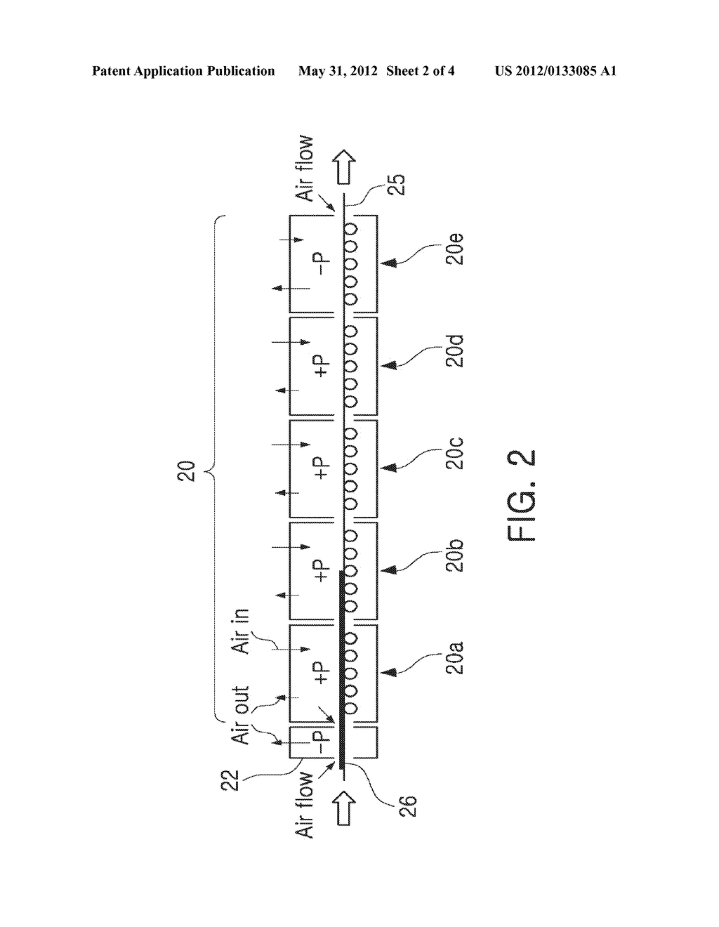 CERAMIC GREEN SHEET DRYING APPARATUS AND METHOD OF FABRICATING CERAMIC     GREEN SHEET USING THE SAME - diagram, schematic, and image 03