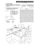 Expandable table arrangement and the like, especially suited for use in     recreational vehicles diagram and image