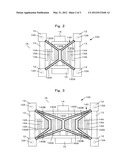 POWER AMPLIFYING DEVICE AND COUPLED POWER AMPLIFYING DEVICE diagram and image
