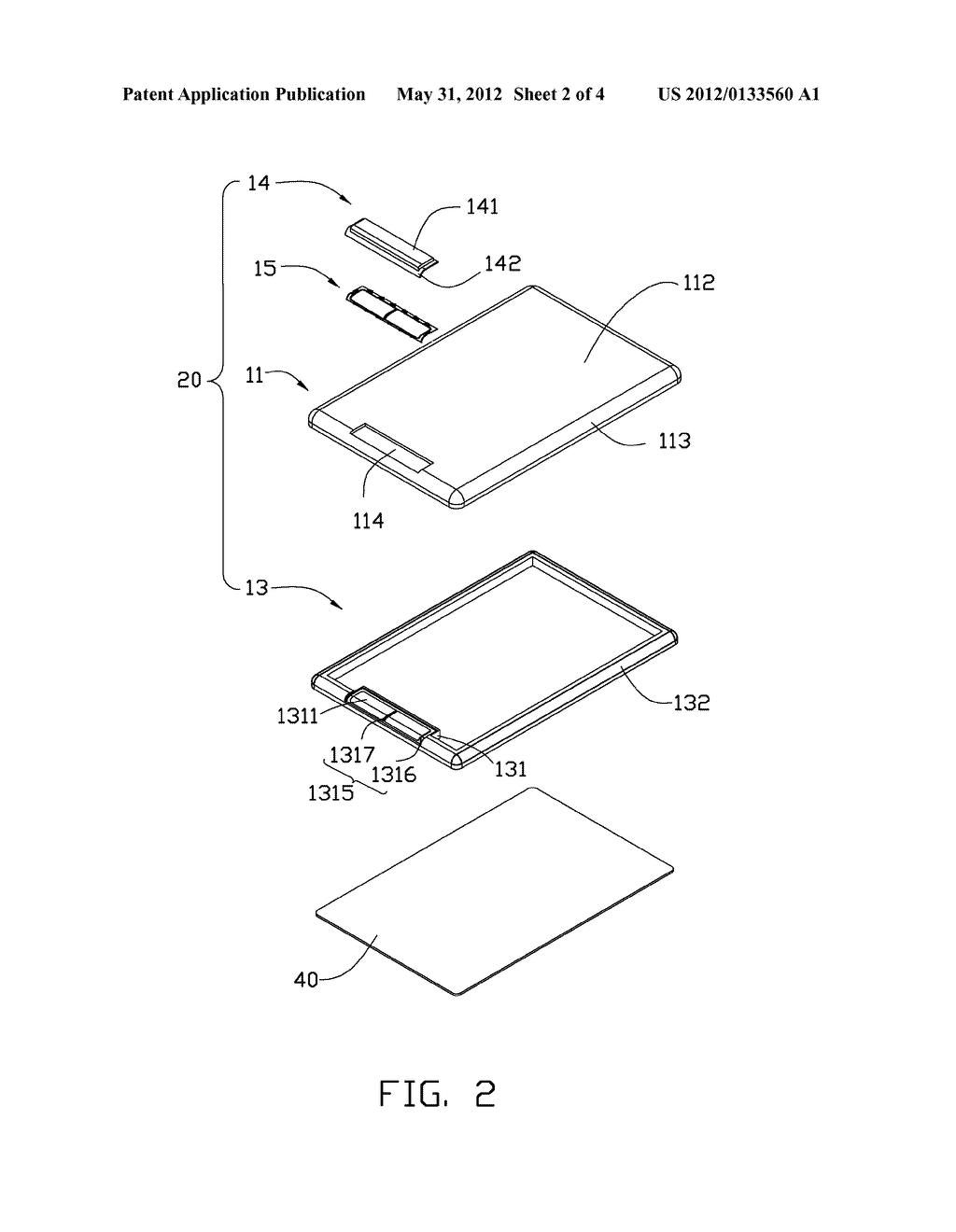 HOUSING ASSEMBLY AND ELECTRONIC DEVICE USING THE SAME - diagram, schematic, and image 03
