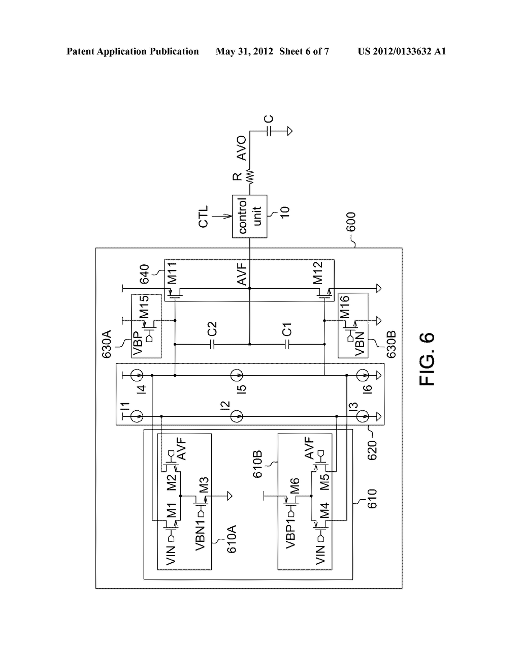 OPERATIONAL AMPLIFIER AND DISPLAY DRIVING CIRCUIT USING THE SAME - diagram, schematic, and image 07