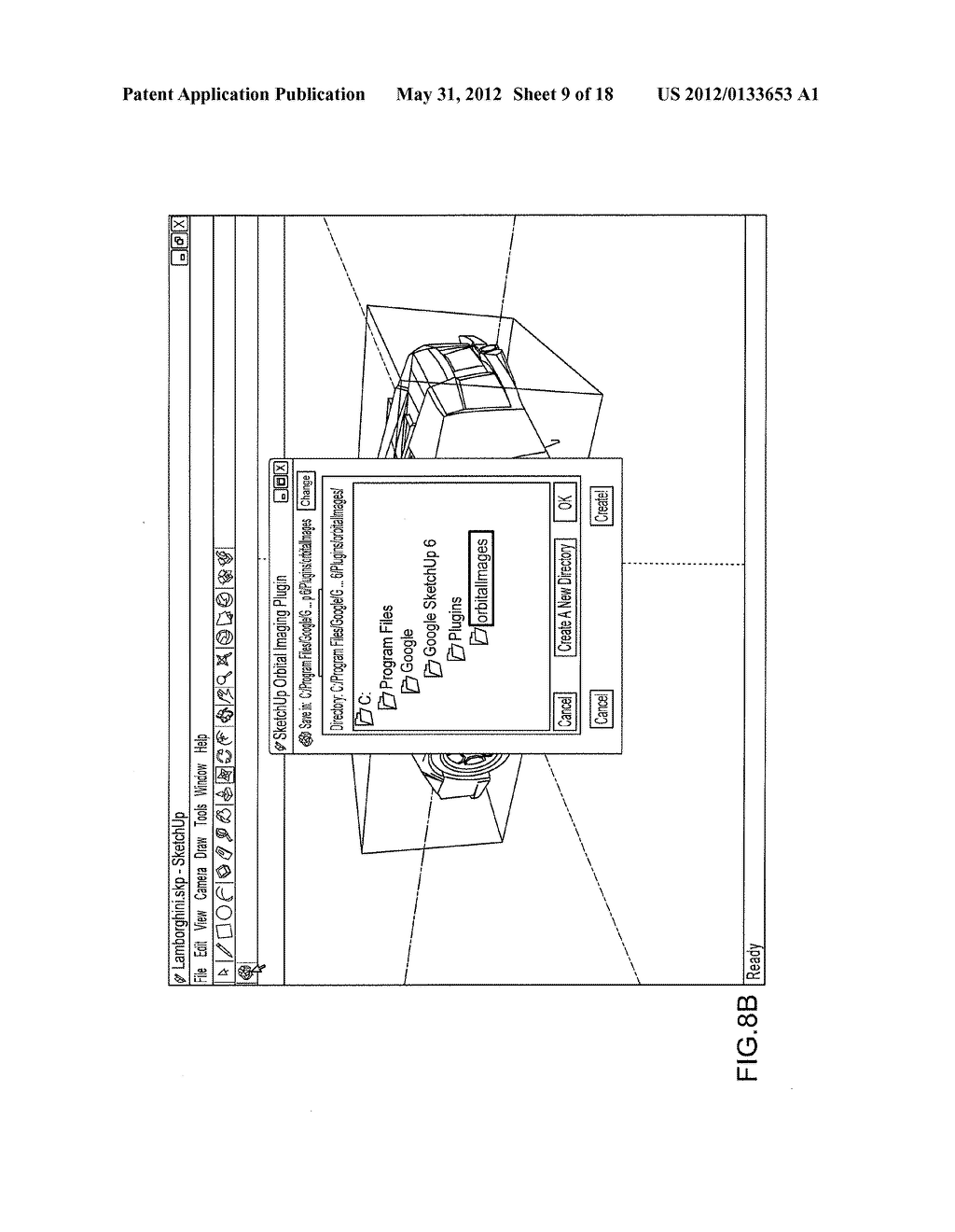 LIGHTWEIGHT THREE-DIMENSIONAL DISPLAY - diagram, schematic, and image 10