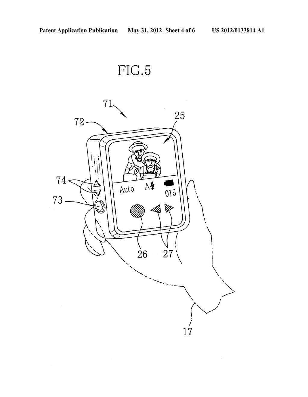IMAGING APPARATUS WITH DISPLAY AND IMAGE DISPLAY APPARATUS - diagram, schematic, and image 05