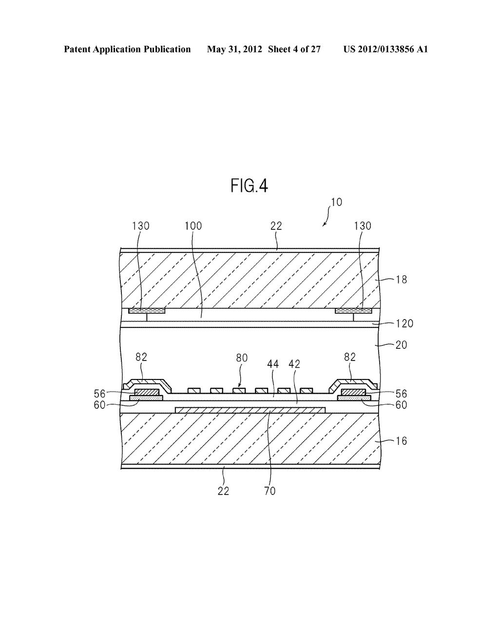 LIQUID CRYSTAL PANEL, LIQUID CRYSTAL DISPLAY DEVICE, AND MANUFACTURING     METHOD THEREOF - diagram, schematic, and image 05