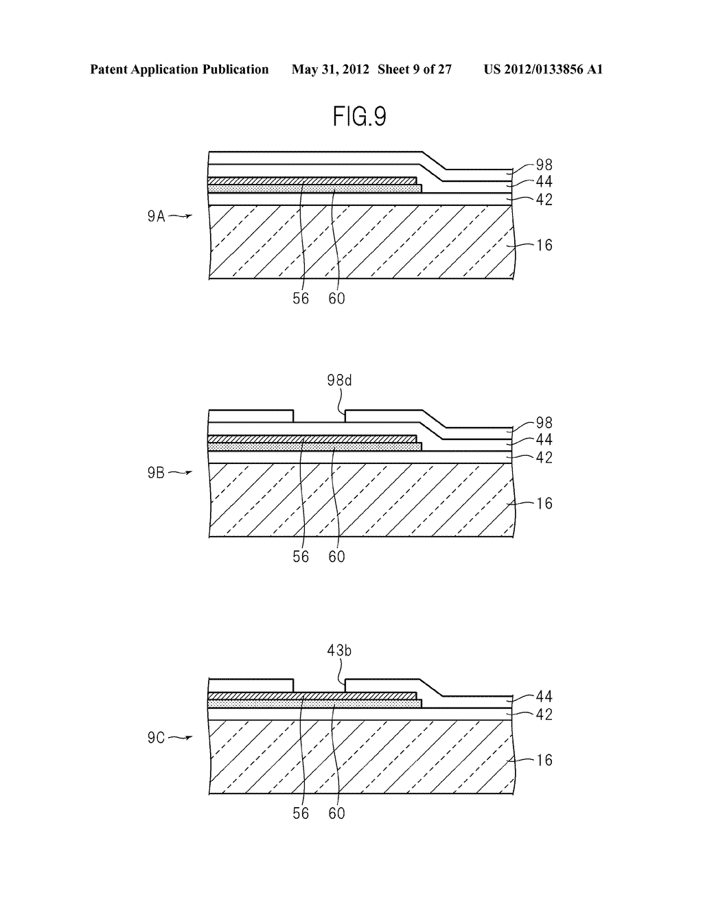 LIQUID CRYSTAL PANEL, LIQUID CRYSTAL DISPLAY DEVICE, AND MANUFACTURING     METHOD THEREOF - diagram, schematic, and image 10