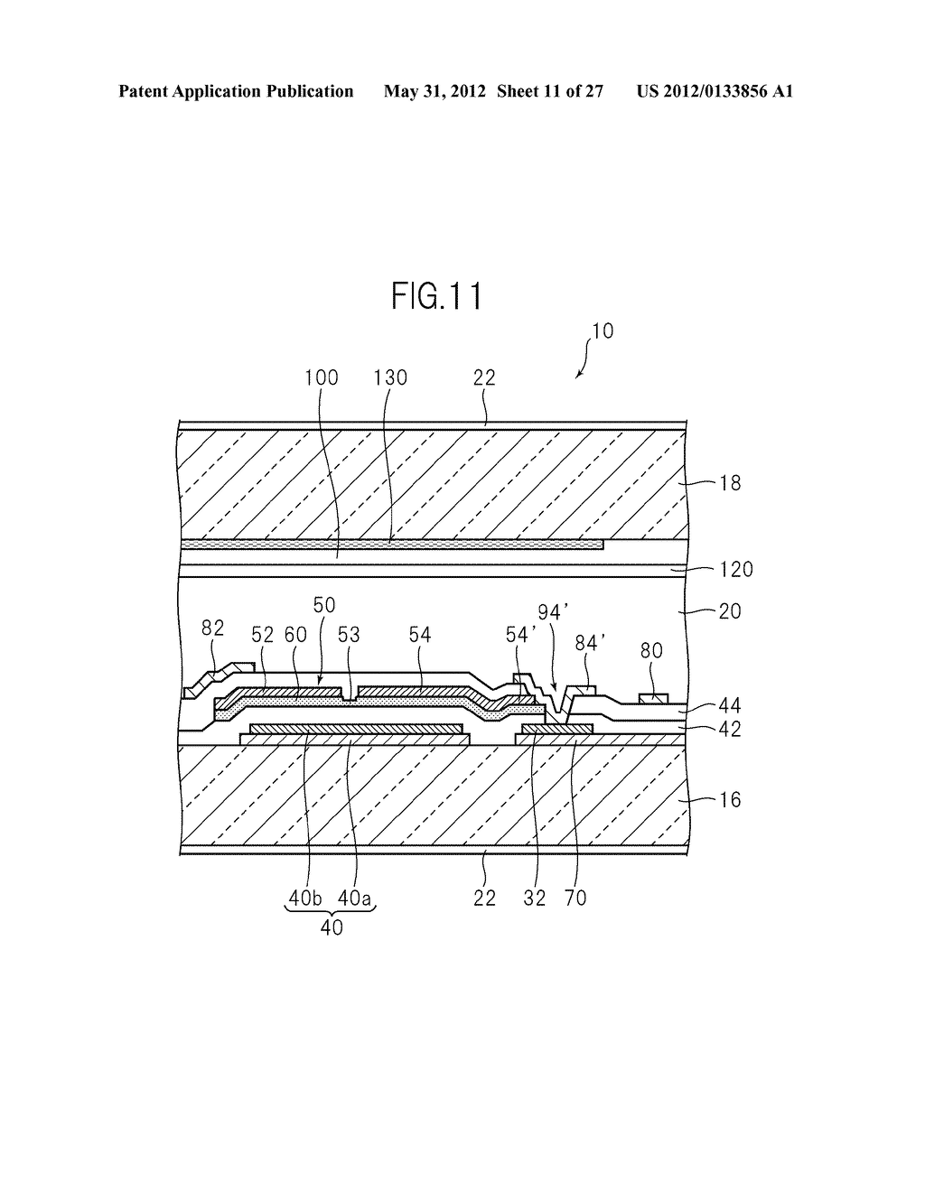 LIQUID CRYSTAL PANEL, LIQUID CRYSTAL DISPLAY DEVICE, AND MANUFACTURING     METHOD THEREOF - diagram, schematic, and image 12