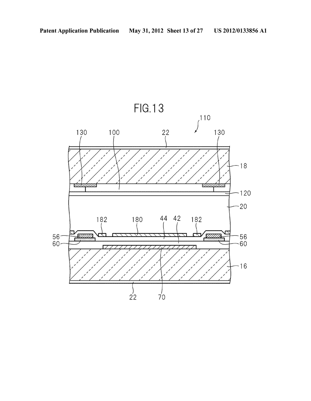 LIQUID CRYSTAL PANEL, LIQUID CRYSTAL DISPLAY DEVICE, AND MANUFACTURING     METHOD THEREOF - diagram, schematic, and image 14