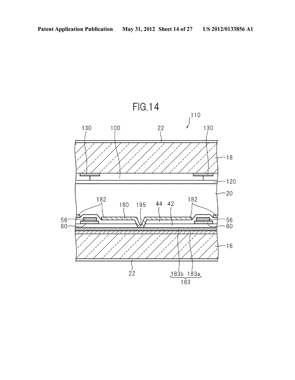 LIQUID CRYSTAL PANEL, LIQUID CRYSTAL DISPLAY DEVICE, AND MANUFACTURING     METHOD THEREOF - diagram, schematic, and image 15