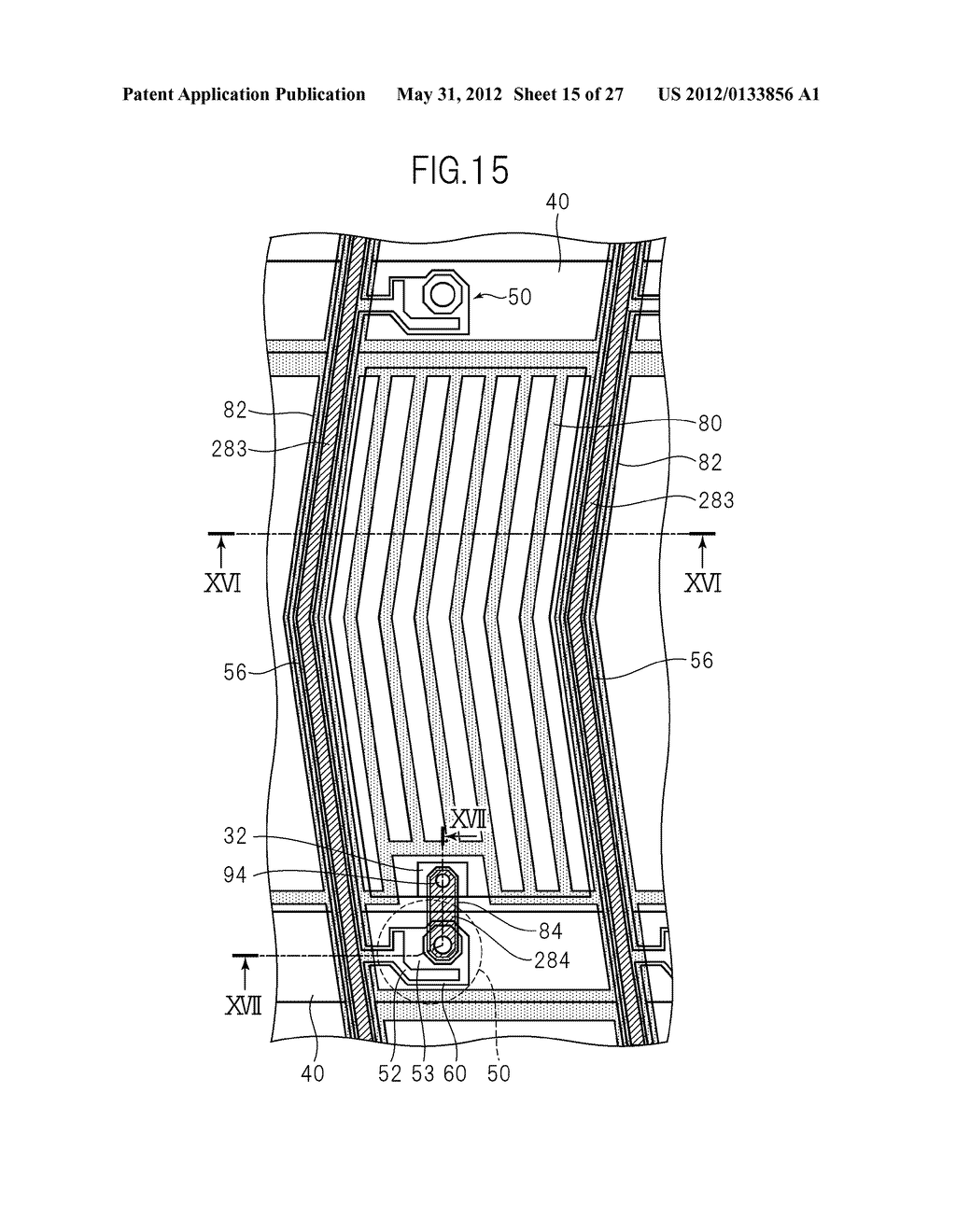 LIQUID CRYSTAL PANEL, LIQUID CRYSTAL DISPLAY DEVICE, AND MANUFACTURING     METHOD THEREOF - diagram, schematic, and image 16