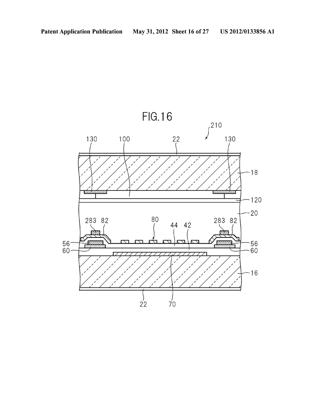 LIQUID CRYSTAL PANEL, LIQUID CRYSTAL DISPLAY DEVICE, AND MANUFACTURING     METHOD THEREOF - diagram, schematic, and image 17