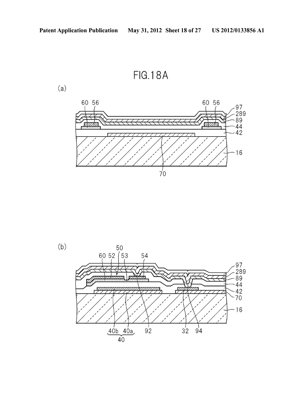 LIQUID CRYSTAL PANEL, LIQUID CRYSTAL DISPLAY DEVICE, AND MANUFACTURING     METHOD THEREOF - diagram, schematic, and image 19