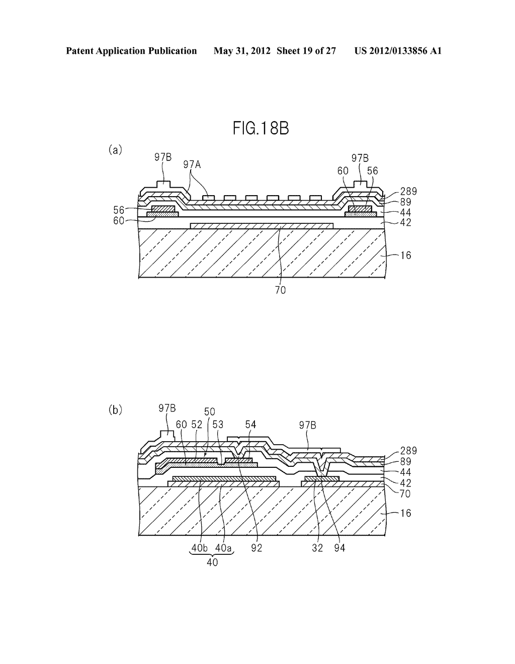 LIQUID CRYSTAL PANEL, LIQUID CRYSTAL DISPLAY DEVICE, AND MANUFACTURING     METHOD THEREOF - diagram, schematic, and image 20
