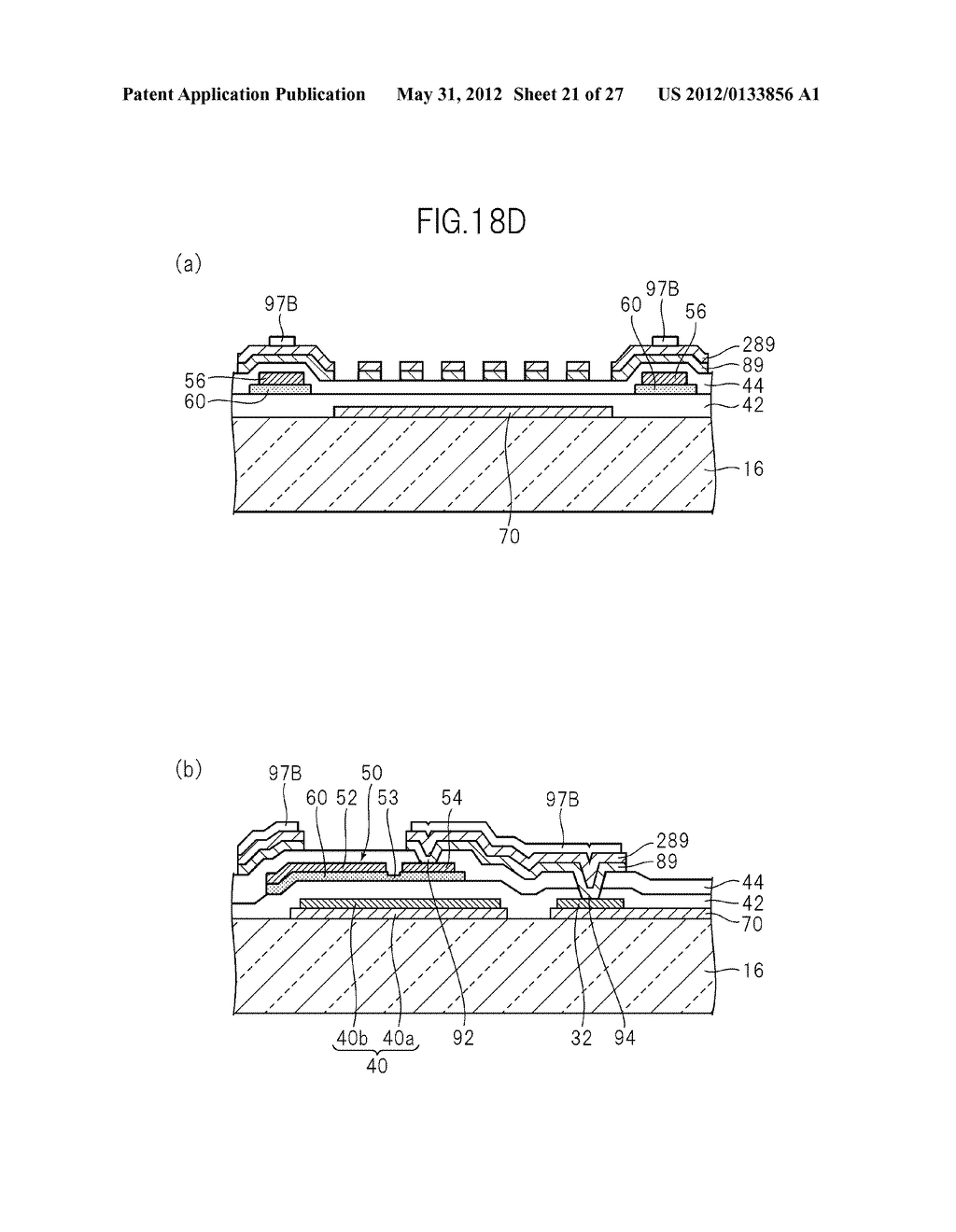 LIQUID CRYSTAL PANEL, LIQUID CRYSTAL DISPLAY DEVICE, AND MANUFACTURING     METHOD THEREOF - diagram, schematic, and image 22