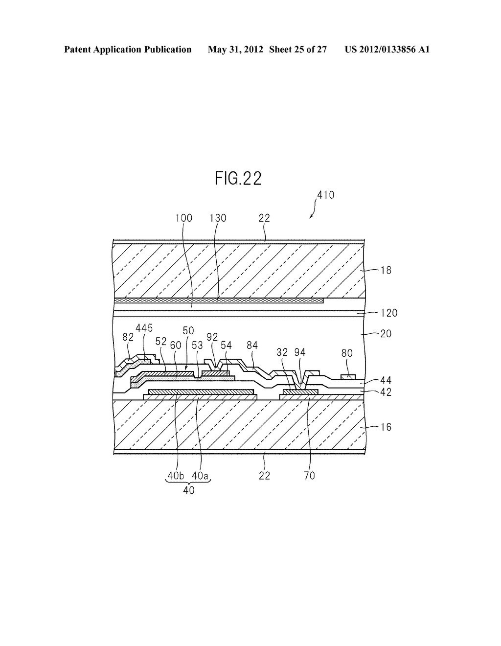 LIQUID CRYSTAL PANEL, LIQUID CRYSTAL DISPLAY DEVICE, AND MANUFACTURING     METHOD THEREOF - diagram, schematic, and image 26