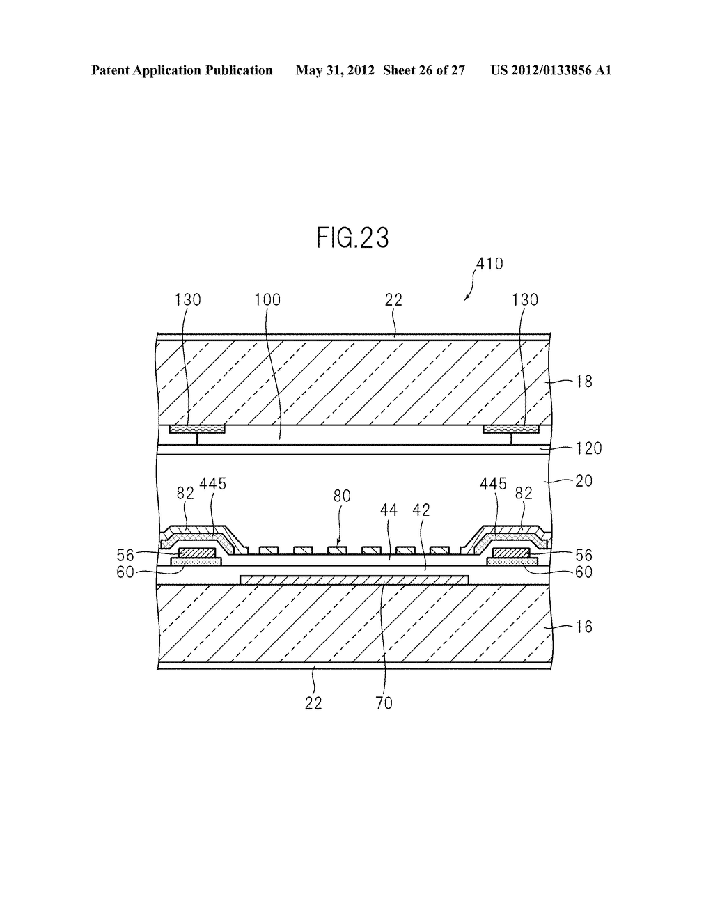 LIQUID CRYSTAL PANEL, LIQUID CRYSTAL DISPLAY DEVICE, AND MANUFACTURING     METHOD THEREOF - diagram, schematic, and image 27