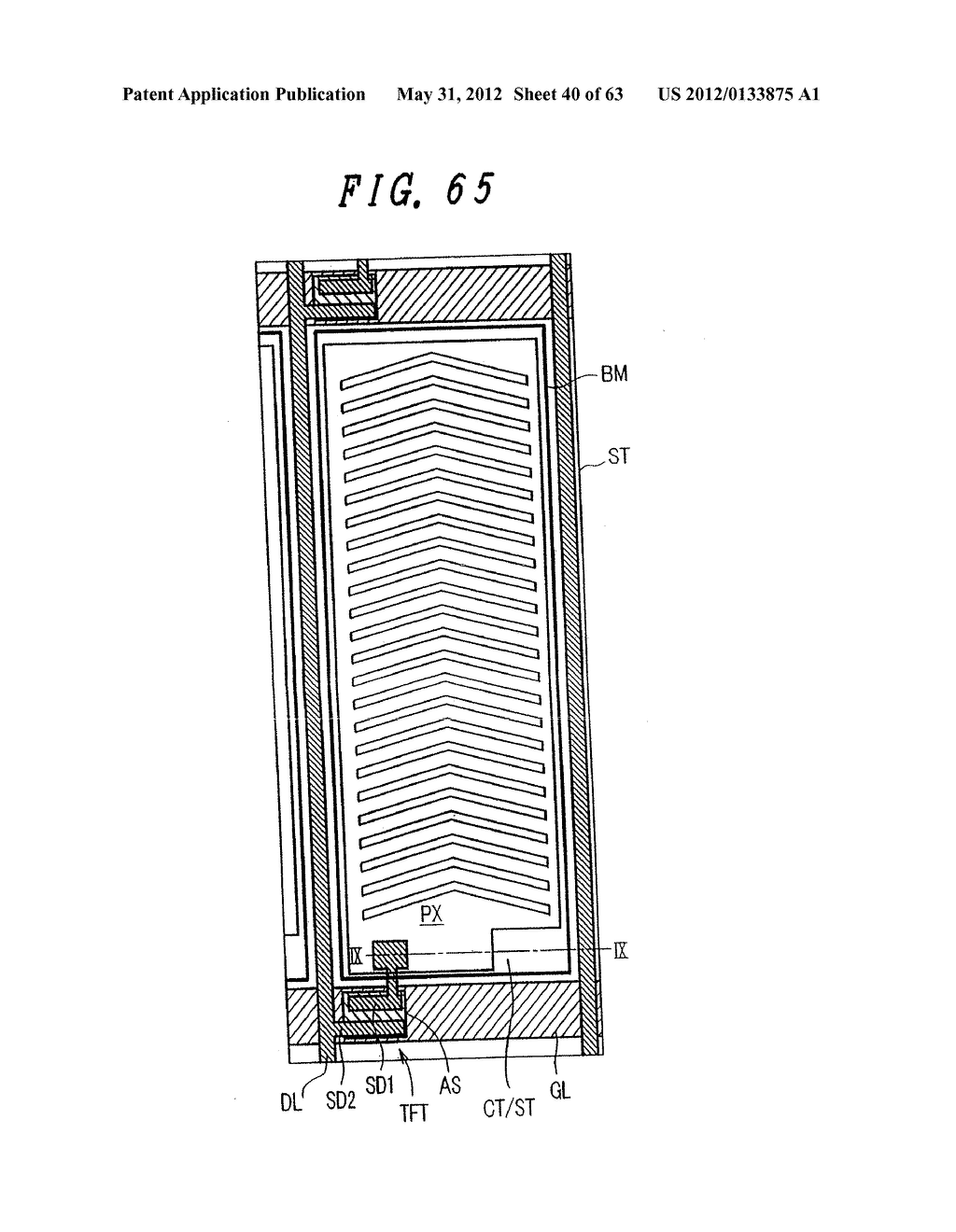 Liquid Crystal Display Device, Display Device and Manufacturing Method     Thereof - diagram, schematic, and image 41