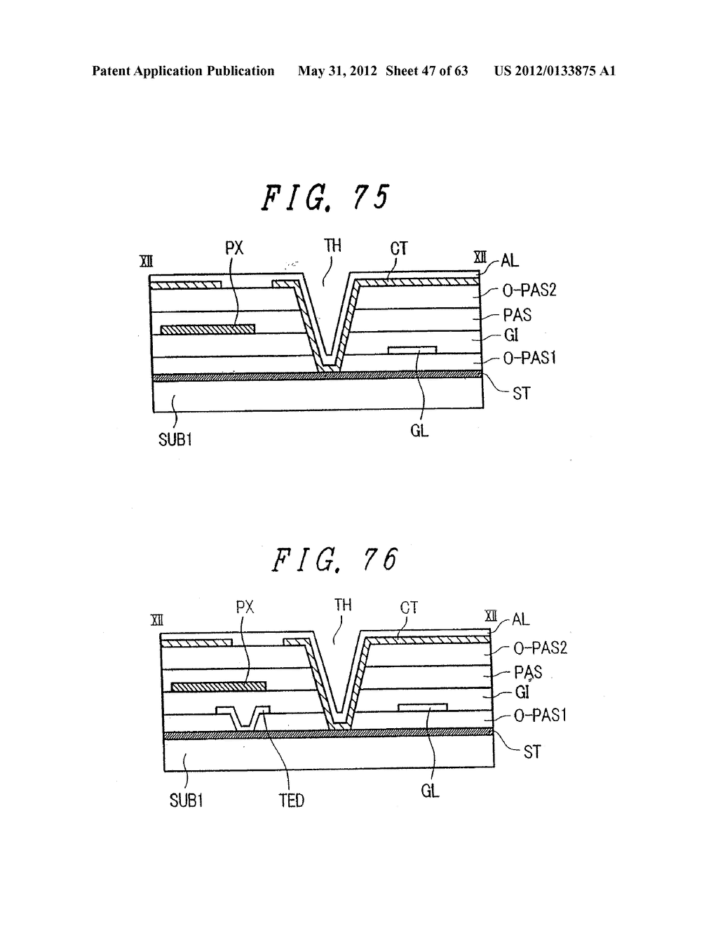 Liquid Crystal Display Device, Display Device and Manufacturing Method     Thereof - diagram, schematic, and image 48