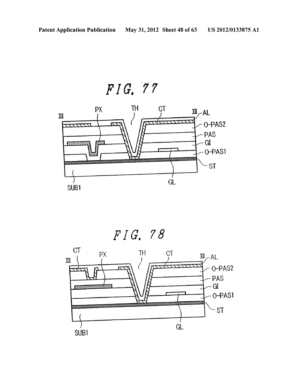 Liquid Crystal Display Device, Display Device and Manufacturing Method     Thereof - diagram, schematic, and image 49