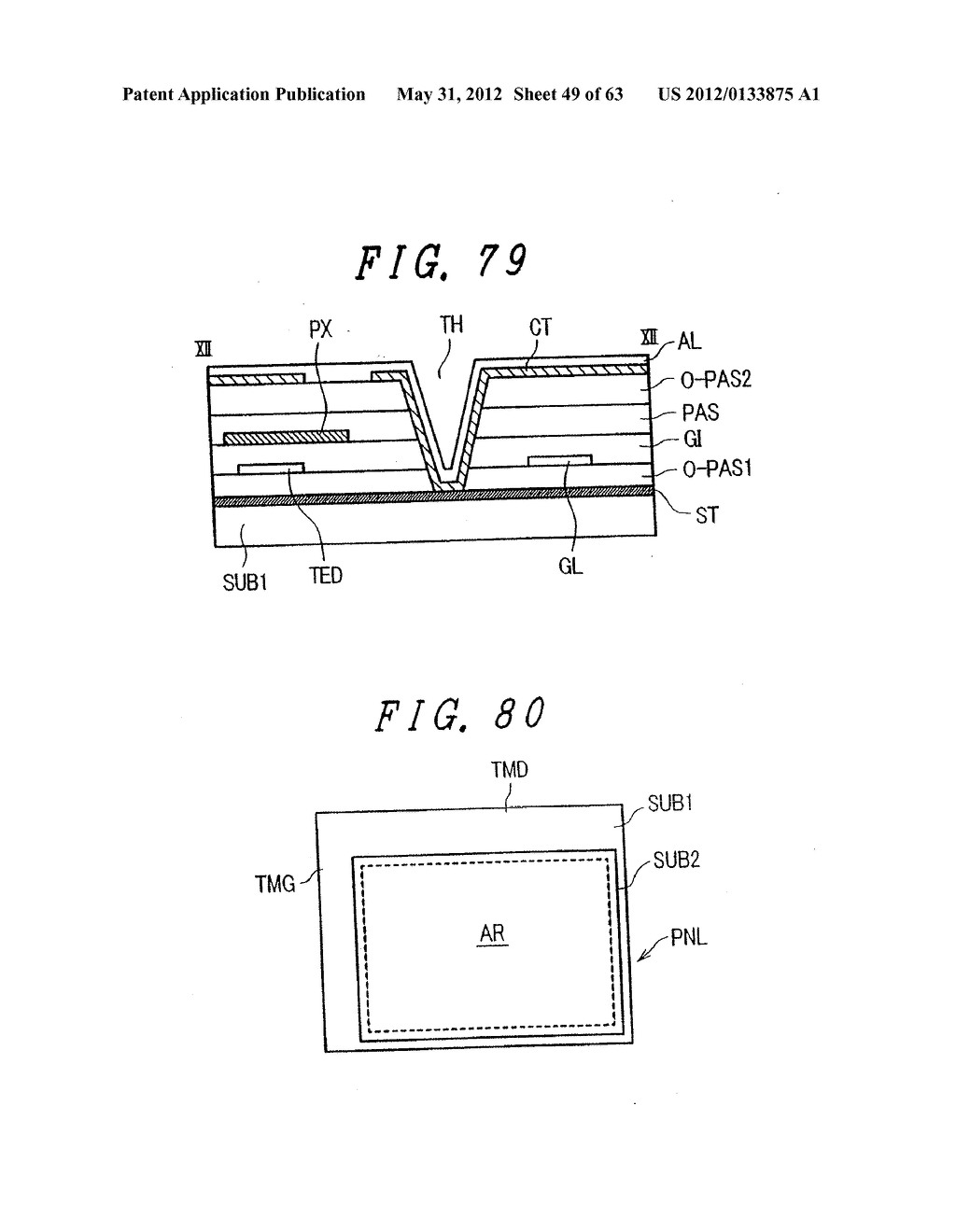 Liquid Crystal Display Device, Display Device and Manufacturing Method     Thereof - diagram, schematic, and image 50