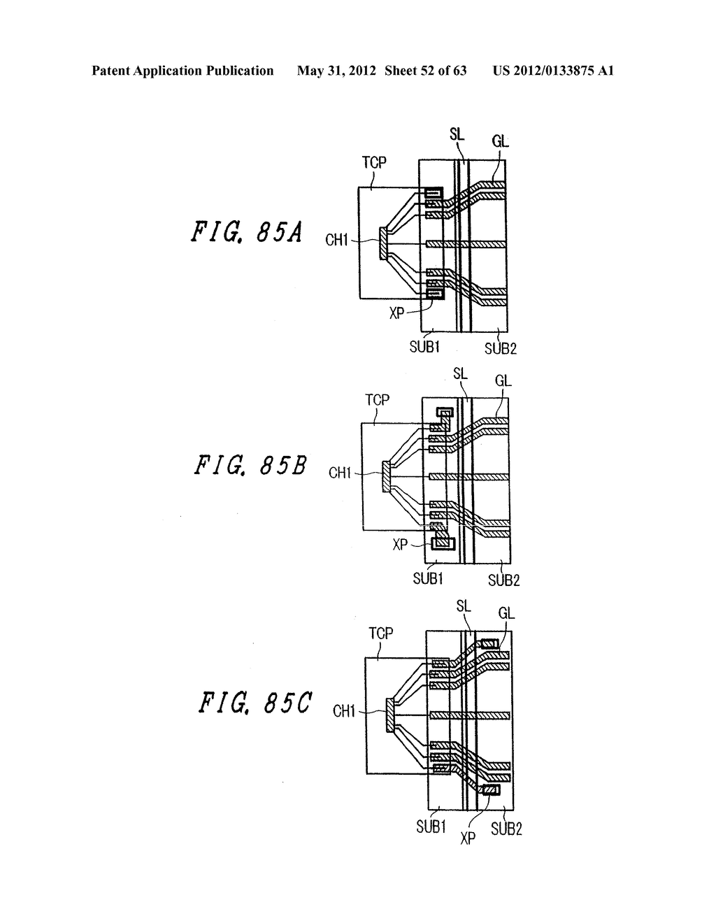 Liquid Crystal Display Device, Display Device and Manufacturing Method     Thereof - diagram, schematic, and image 53