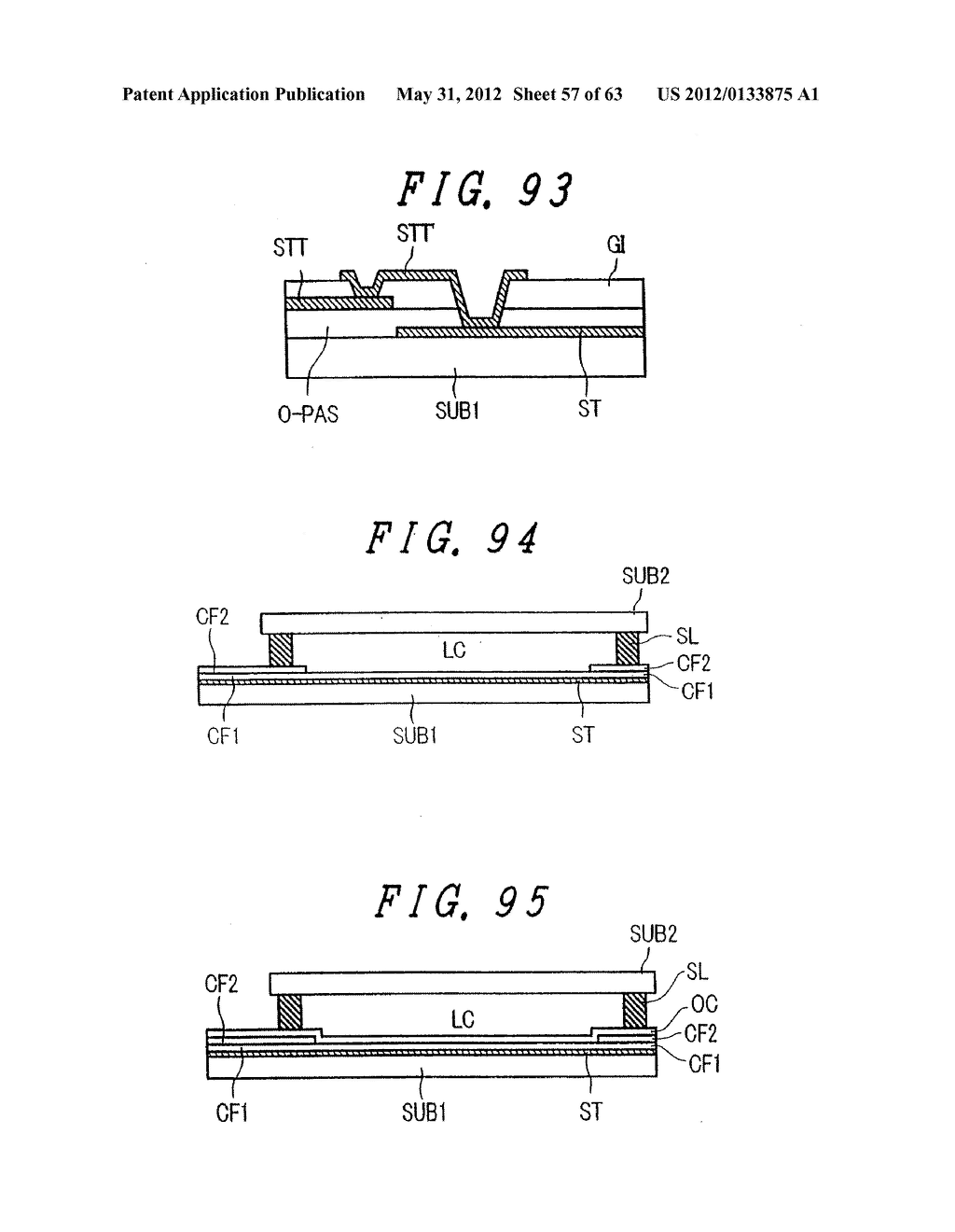 Liquid Crystal Display Device, Display Device and Manufacturing Method     Thereof - diagram, schematic, and image 58