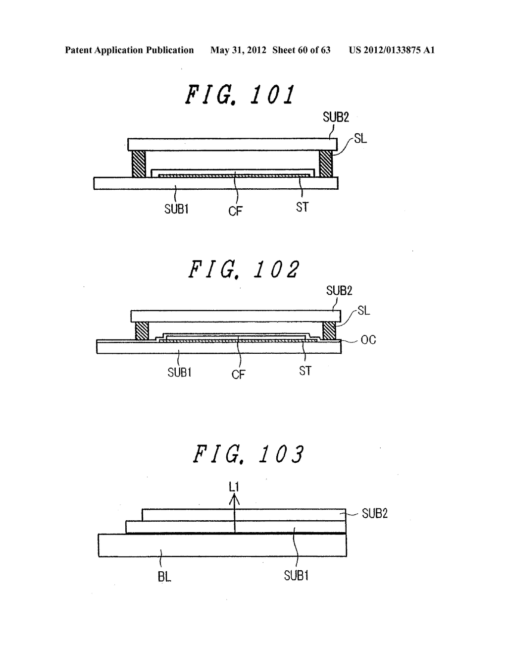 Liquid Crystal Display Device, Display Device and Manufacturing Method     Thereof - diagram, schematic, and image 61