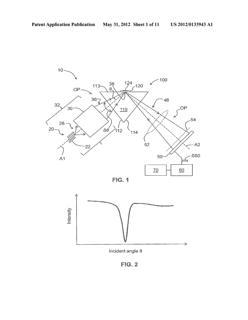Systems And Methods For Multi-Wavelength SPR Biosensing With Reduced     Chromatic Aberration - diagram, schematic, and image 02