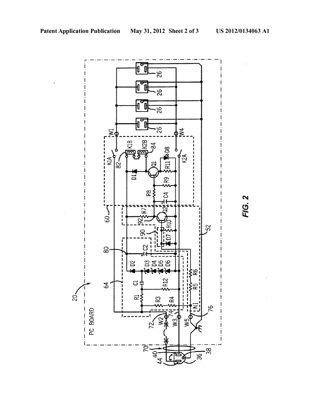 RELOCATABLE POWER TAP WITH SURGE PROTECTOR - diagram ... on valve schematic, ballast schematic, ups schematic, telephone schematic, amplifier schematic, tv schematic, rectifier schematic, hard drive schematic, contactor schematic, door schematic, led schematic, power supply schematic, circuit breaker schematic, electronics schematic, remote control schematic, keyboard schematic, capacitor schematic, compressor schematic, power conditioner schematic, speakers schematic,