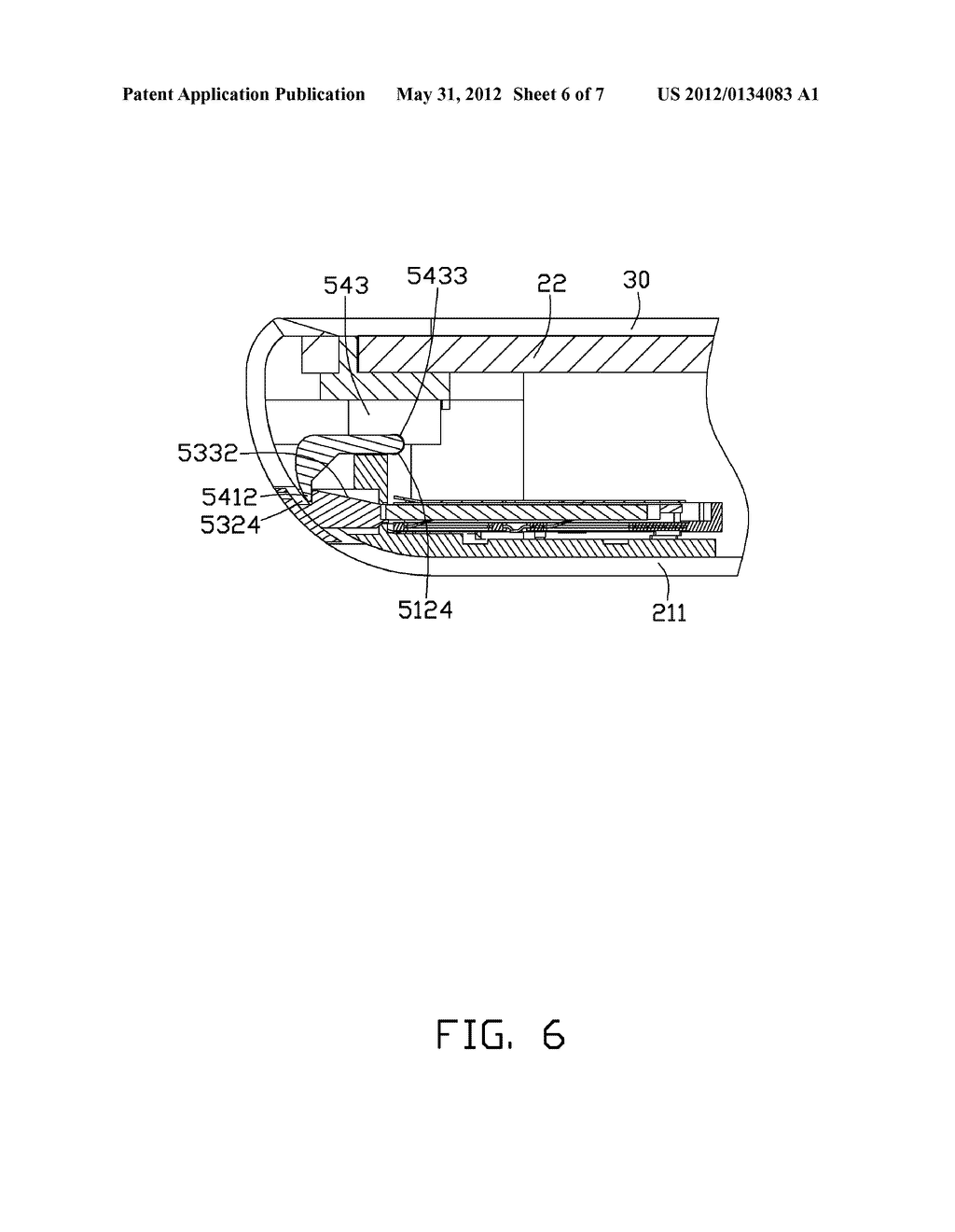 CHIP CARD HOLDING MECHANISM AND PORTABLE ELECTRONIC DEVICE USING SAME - diagram, schematic, and image 07