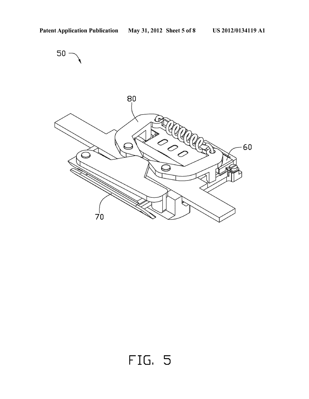 CHIP CARD HOLDING MECHANISM AND ELECTRONIC DEVICE USING THE SAME - diagram, schematic, and image 06