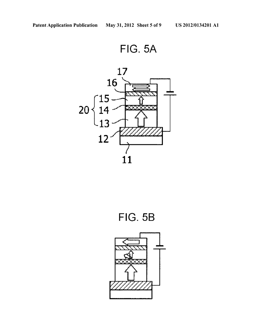MAGNETIC MEMORY ELEMENT AND DRIVING METHOD FOR SAME - diagram, schematic, and image 06