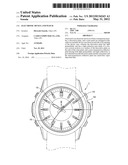 ELECTRONIC DEVICE AND WATCH diagram and image