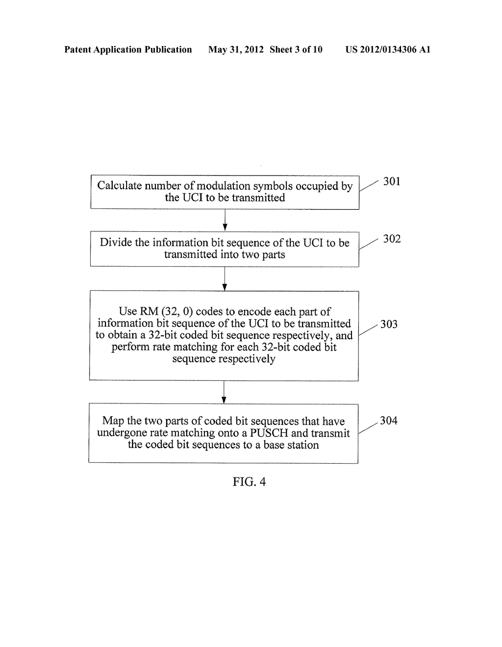 METHOD FOR TRANSMITTING AND RECEIVING UPLINK CONTROL INFORMATION,     TERMINAL, BASE STATION - diagram, schematic, and image 04