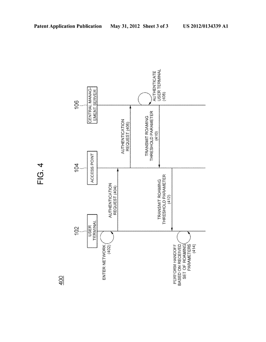 SYSTEM AND METHOD FOR SETTING ADAPTIVE HANDOFF PARAMETERS - diagram, schematic, and image 04