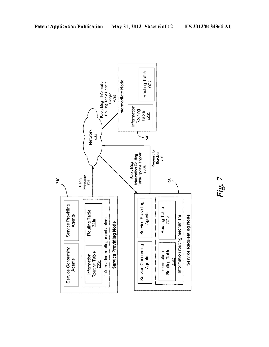 SYSTEM AND METHOD OF UTILIZING A FRAMEWORK FOR INFORMATION ROUTING IN     LARGE-SCALE DISTRIBUTED SYSTEMS USING SWARM INTELLIGENCE - diagram, schematic, and image 07