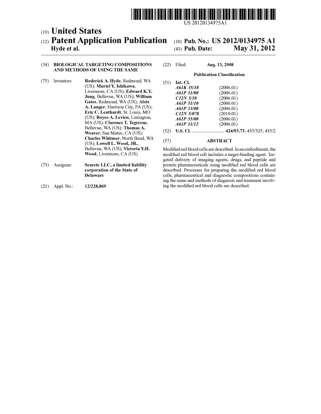 Biological targeting compositions and methods of using the same - diagram, schematic, and image 01