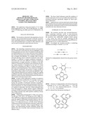 AROMATIC AND AROMATIC/HETEROAROMATIC MOLECULAR STRUCTURES WITH     CONTROLLABLE ELECTRON CONDUCTING PROPERTIES diagram and image