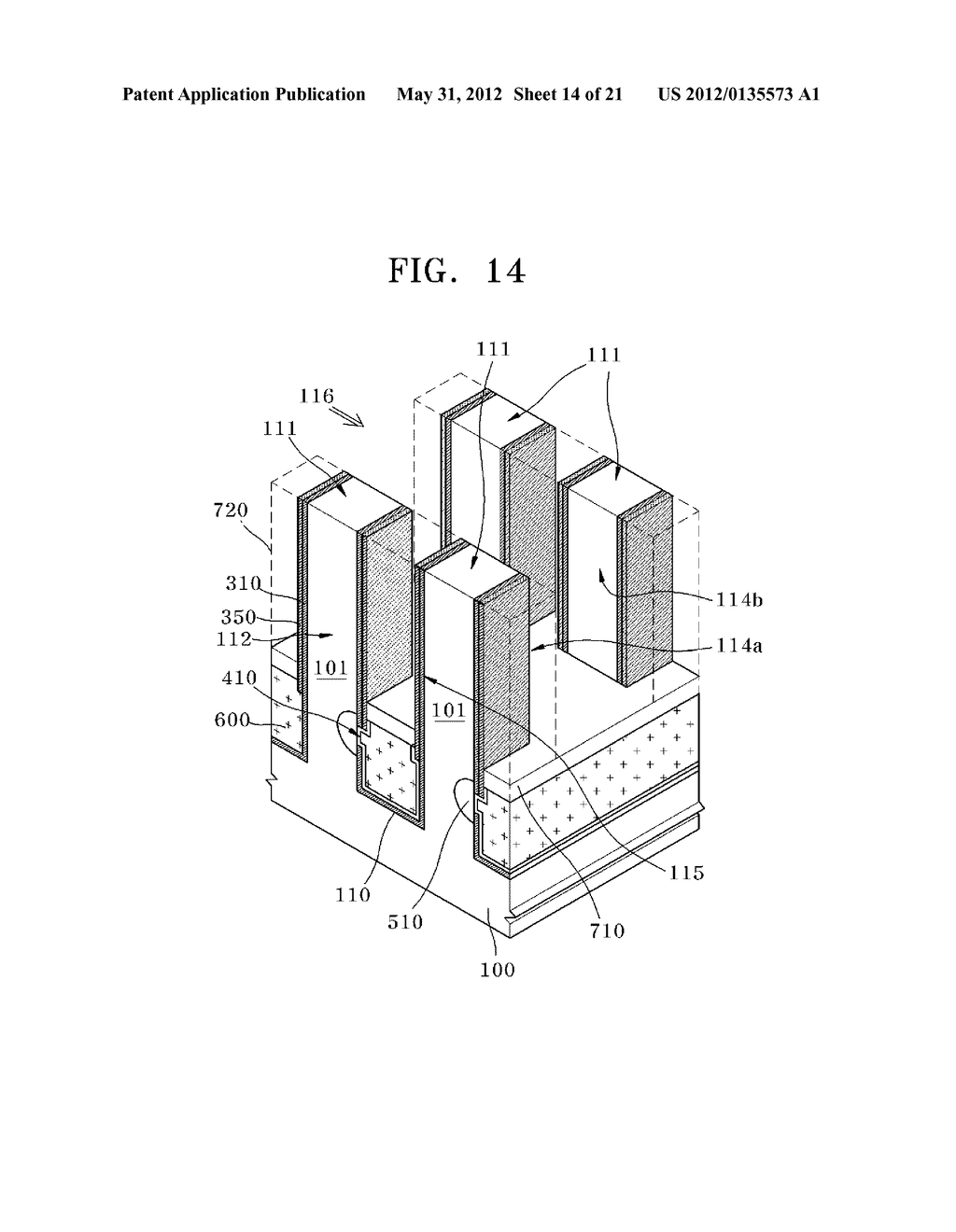 METHOD FOR MANUFACTURING VERTICAL TRANSISTOR HAVING ONE SIDE CONTACT - diagram, schematic, and image 15