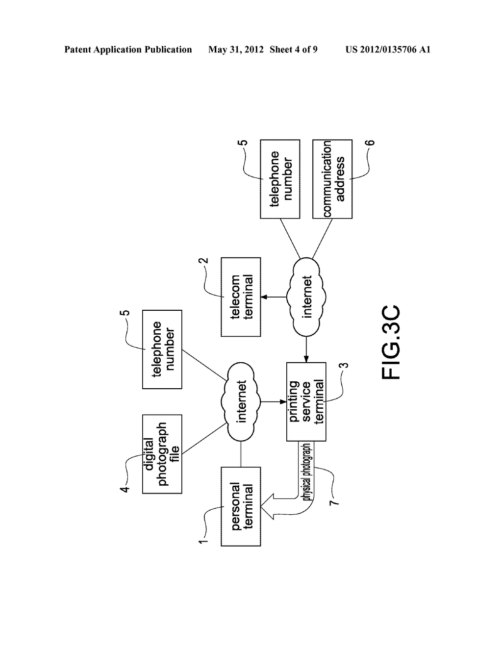 SYSTEM FOR REAL-TIME PHOTOGRAPH PRINTING SERVICE AND METHOD FOR THE SAME - diagram, schematic, and image 05