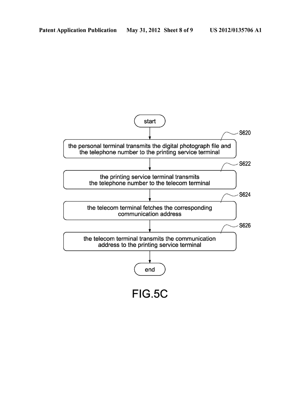 SYSTEM FOR REAL-TIME PHOTOGRAPH PRINTING SERVICE AND METHOD FOR THE SAME - diagram, schematic, and image 09
