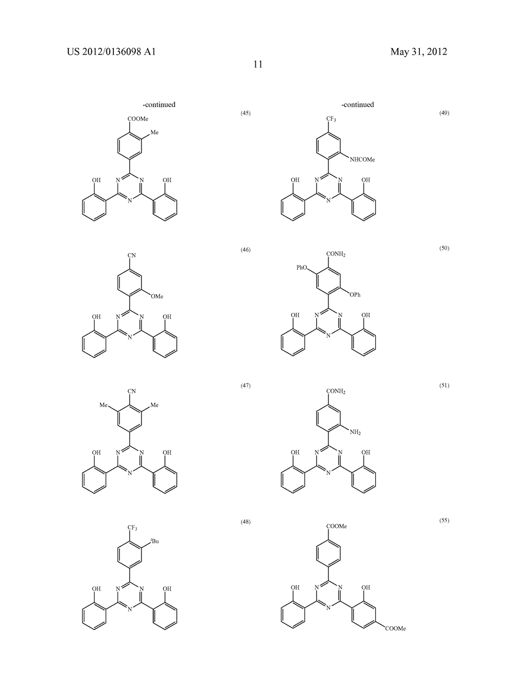 NEW TRIAZINE DERIVATIVE, ULTRAVIOLET ABSORBER, AND RESIN COMPOSITION - diagram, schematic, and image 12