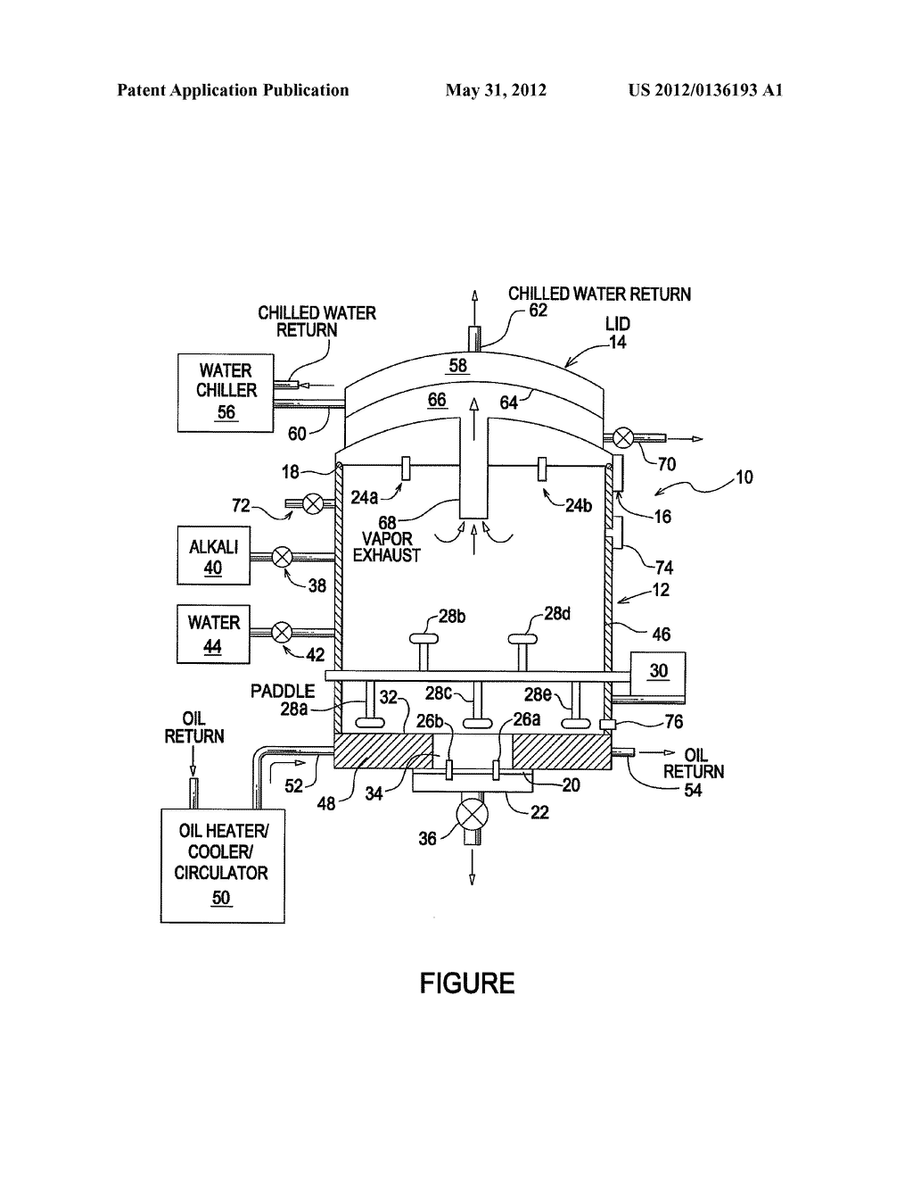 APPARATUS AND METHOD FOR HYDROLYZING BIOLOGICAL MATERIAL - diagram, schematic, and image 02