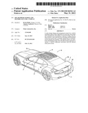 SOLAR POWER CHARGE AND DISTRIBUTION FOR A VEHICLE diagram and image