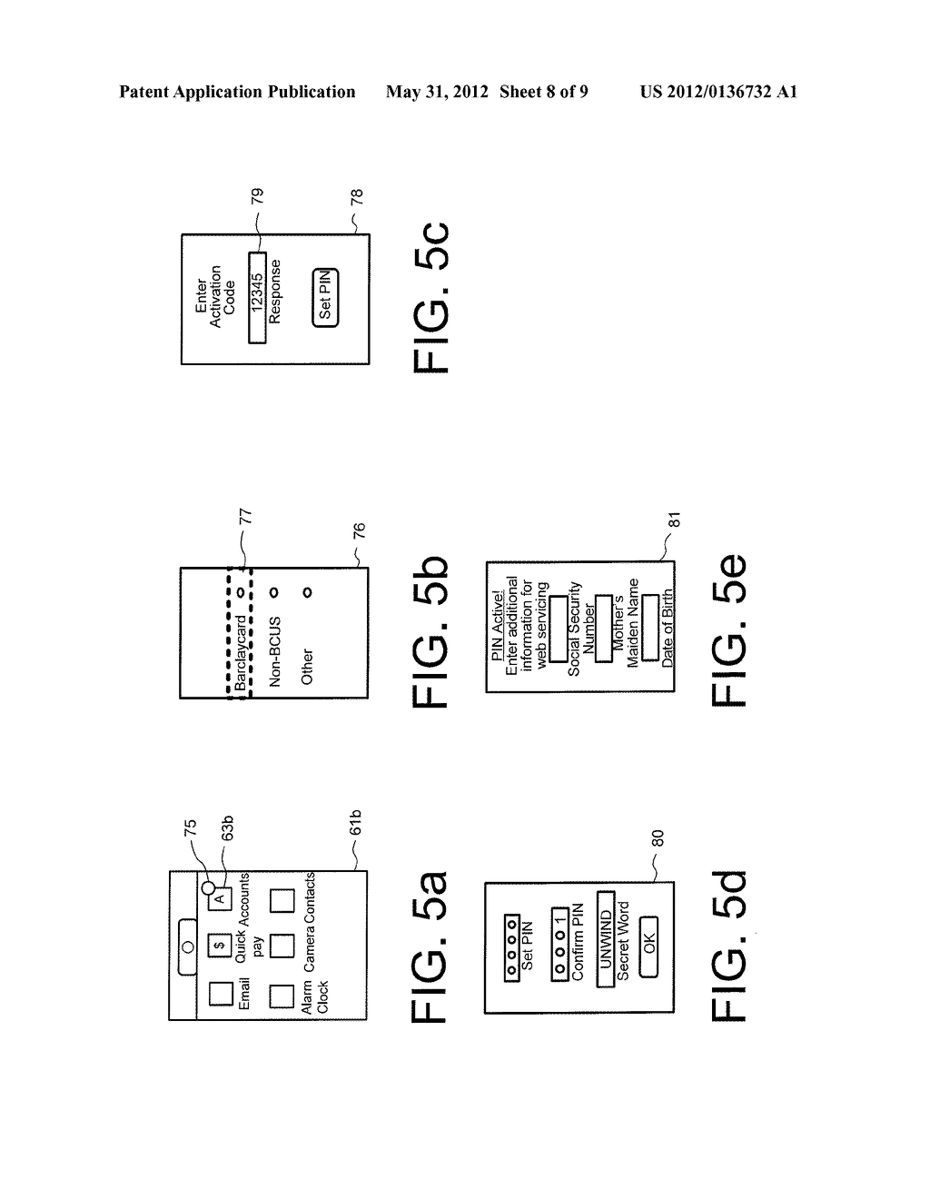 METHOD AND SYSTEM FOR ACCOUNT MANAGEMENT AND ELECTRONIC WALLET ACCESS ON A     MOBILE DEVICE - diagram, schematic, and image 09