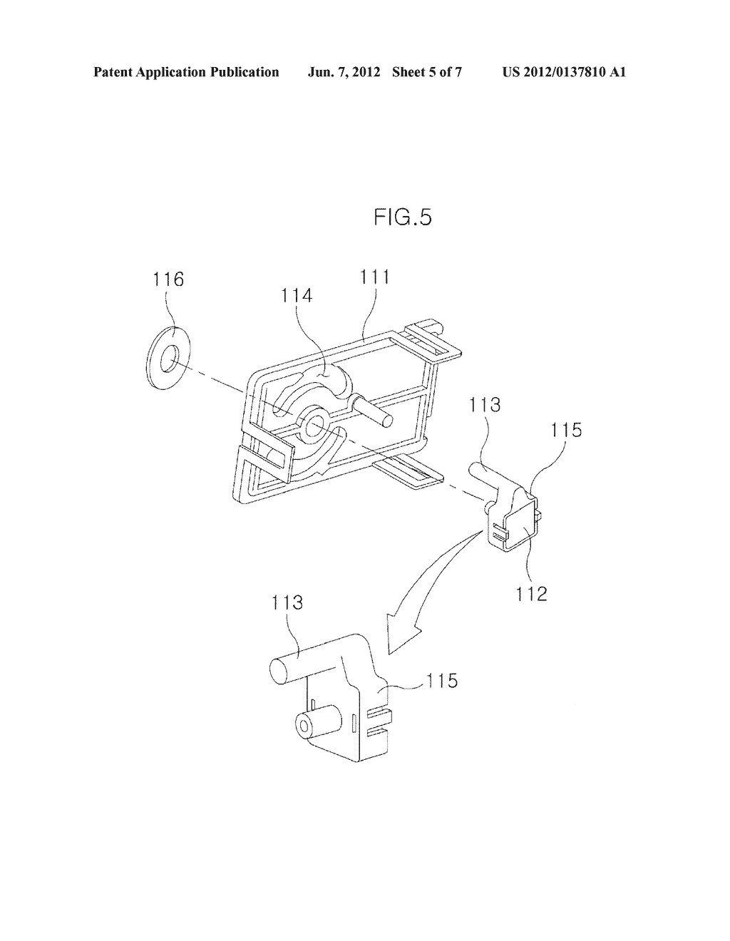 Shifting Range Sensing Device and Shifting Operation Device with the Same - diagram, schematic, and image 06