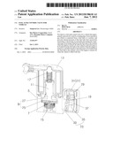 FUEL TANK CONTROL VALVE FOR VEHICLE diagram and image