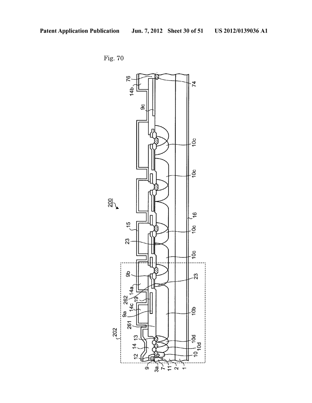 MANUFACTURING METHOD OF SEMICONDUCTOR APPARATUS AND SEMICONDUCTOR     APPARATUS - diagram, schematic, and image 31